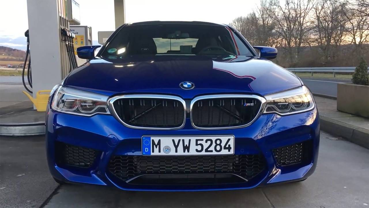 The New Bmw M5 S Launch Control Will Pulverize Your Kidney Stones