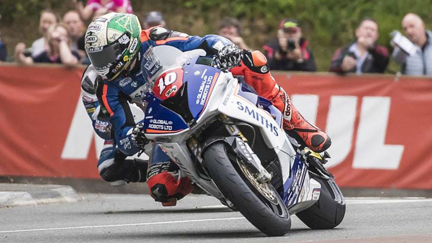 Watch Peter Hickman Flog a BMW around the Isle of Man