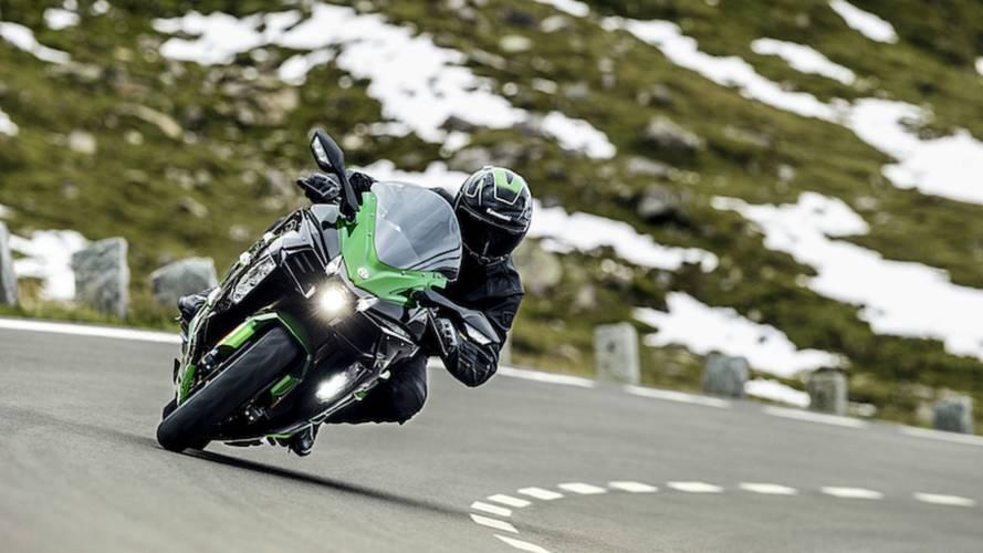 Kawasaki Unveils Supercharged Sport Tourer