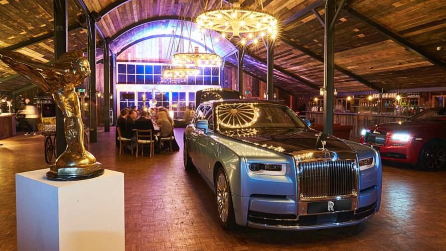 No coffee allowed – Rolls holds a 'cars and cognac' meeting