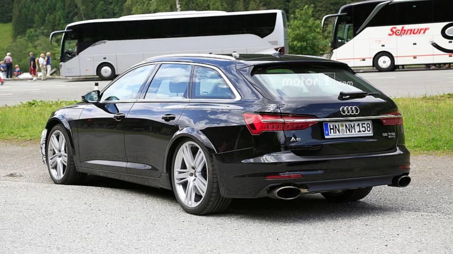 New Audi RS6 Avant Spy Photos