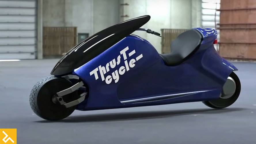 Check out the Thrustcycle Enterprises GyroCycle