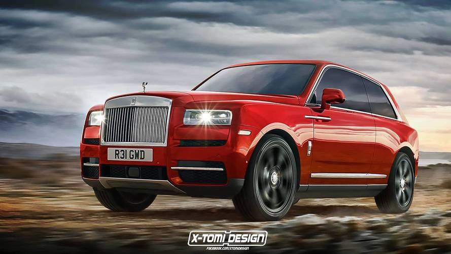 Рендеры Rolls-Royce Cullinan