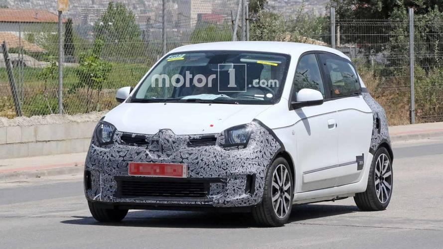 La Renault Twingo restylée surprise par les photographes espions