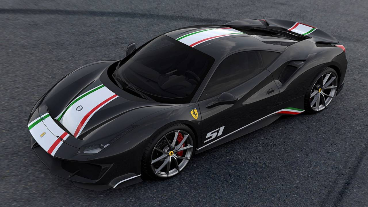 Ferrari 488 Pista Piloti Tera Quatro Versoes Apenas Para Pilotos