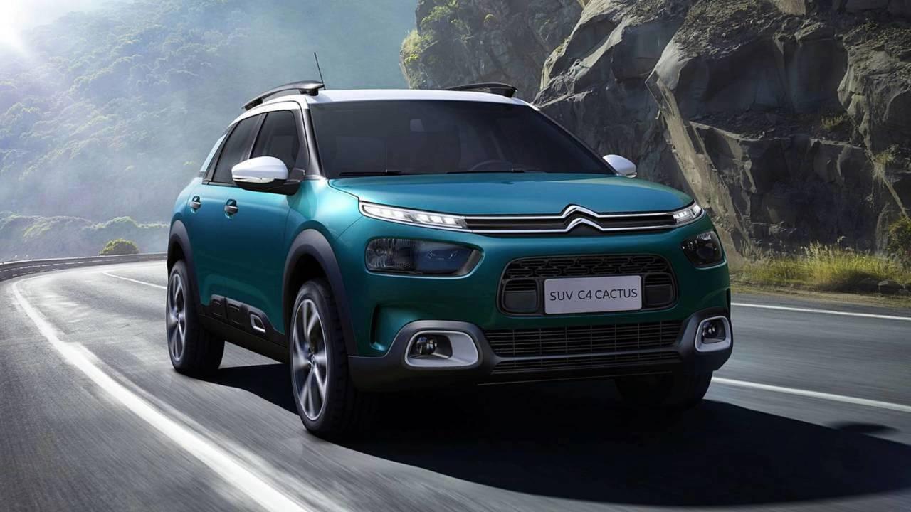 Citroën C4 Cactus - Modelo inédito