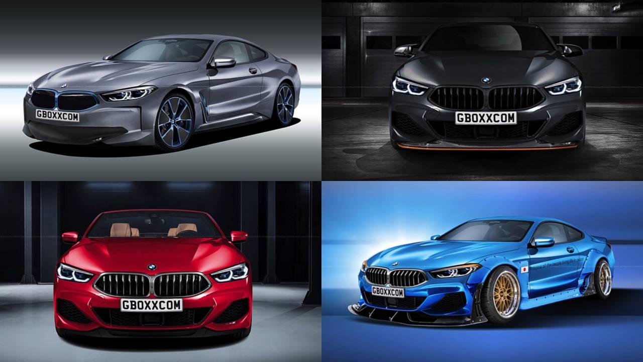 BMW 8 Series Rendering Lead