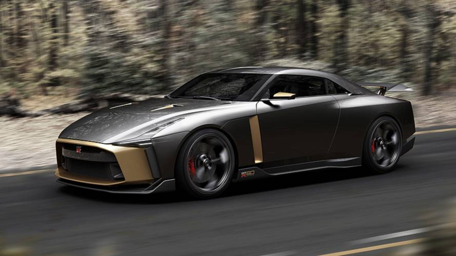 The Nissan GT-R50 by Italdesign is a GT-R 'without limits'