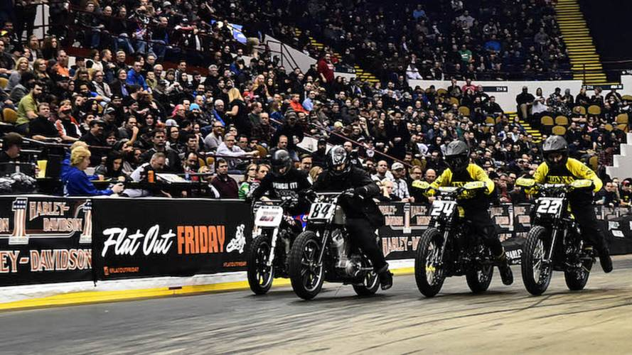 Harley to Livestream Flat Track from Mama Tried