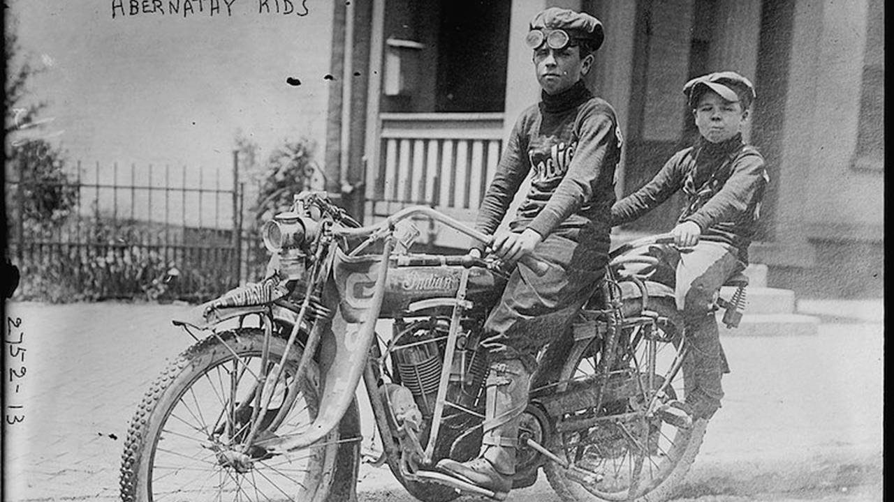 The Tale of Two Boys Who Rode an Indian Motorcycle From OK to NY
