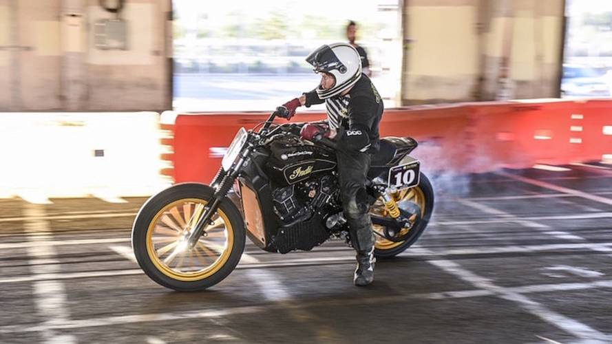 Video: Roland Sands Rides Off Stage at Sturgis, Four Injured
