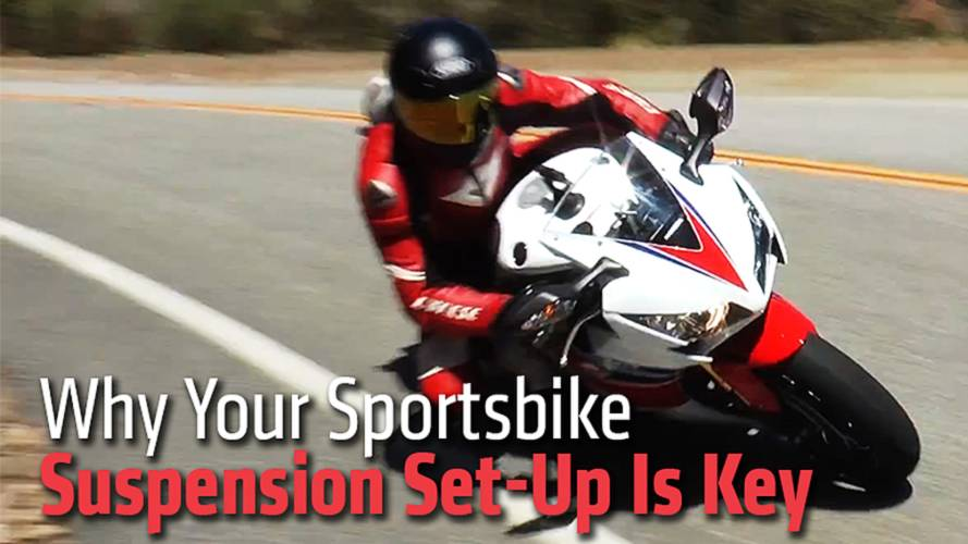 Why Your Sportsbike Suspension Set-Up Is Key