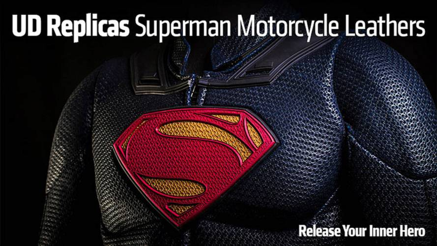 UD Replicas Superman Motorcycle Leathers - Release Your Inner Hero