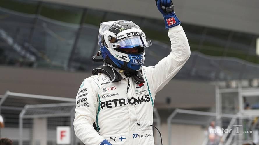 2018 F1 Austrian GP: Bottas Beats Hamilton To Pole By 0.019s