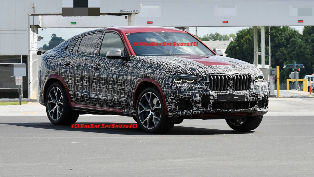 2020 Bmw X6 Caught With Full Production Body In M50i