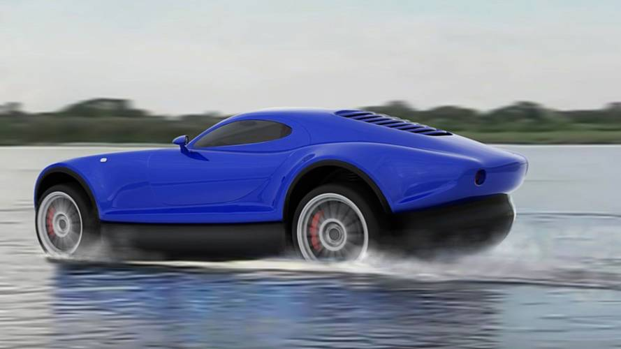 The Yagalet Sports Car Can Hover On Water When You Run Out Of Road