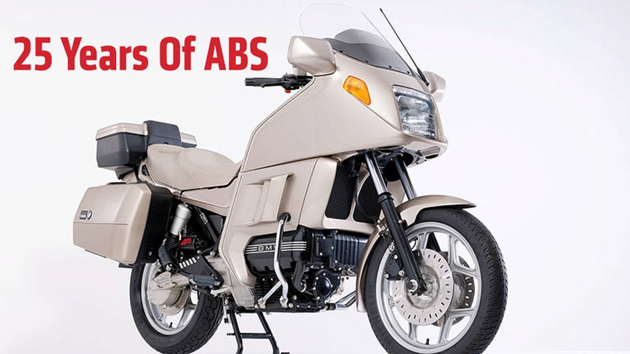 Motorcycle History: 25 Years Ago Today - BMW First to Offer Antilock Brake System