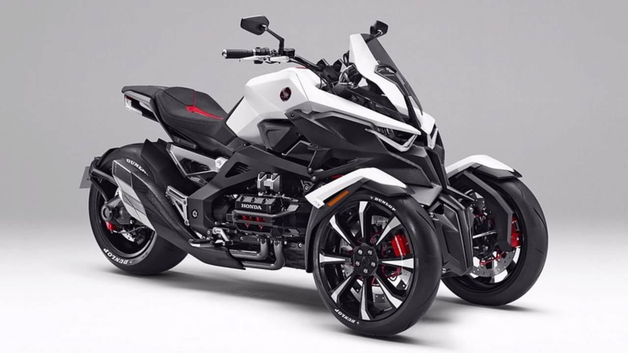 The Honda Neowing Is The Trike You Didn't Know You Wanted