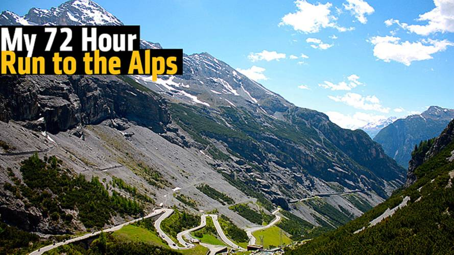 My 72 Hour Motorcycle Run to the Alps