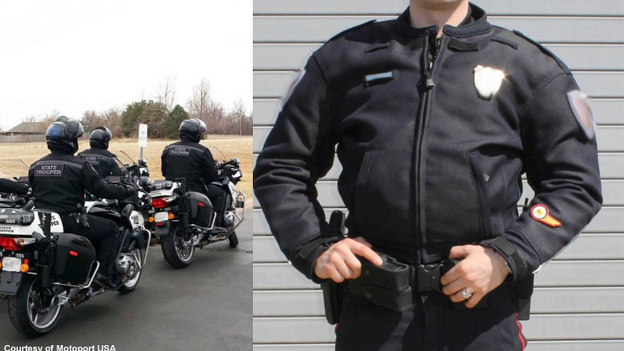 ATGATT - Motorcycle Cops Get New Gear
