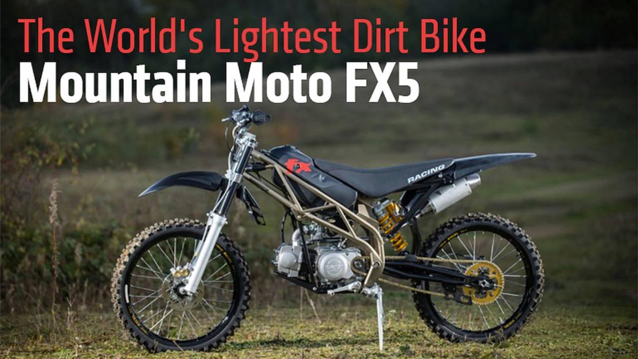 The World's Lightest Dirt Bike – Mountain Moto FX5