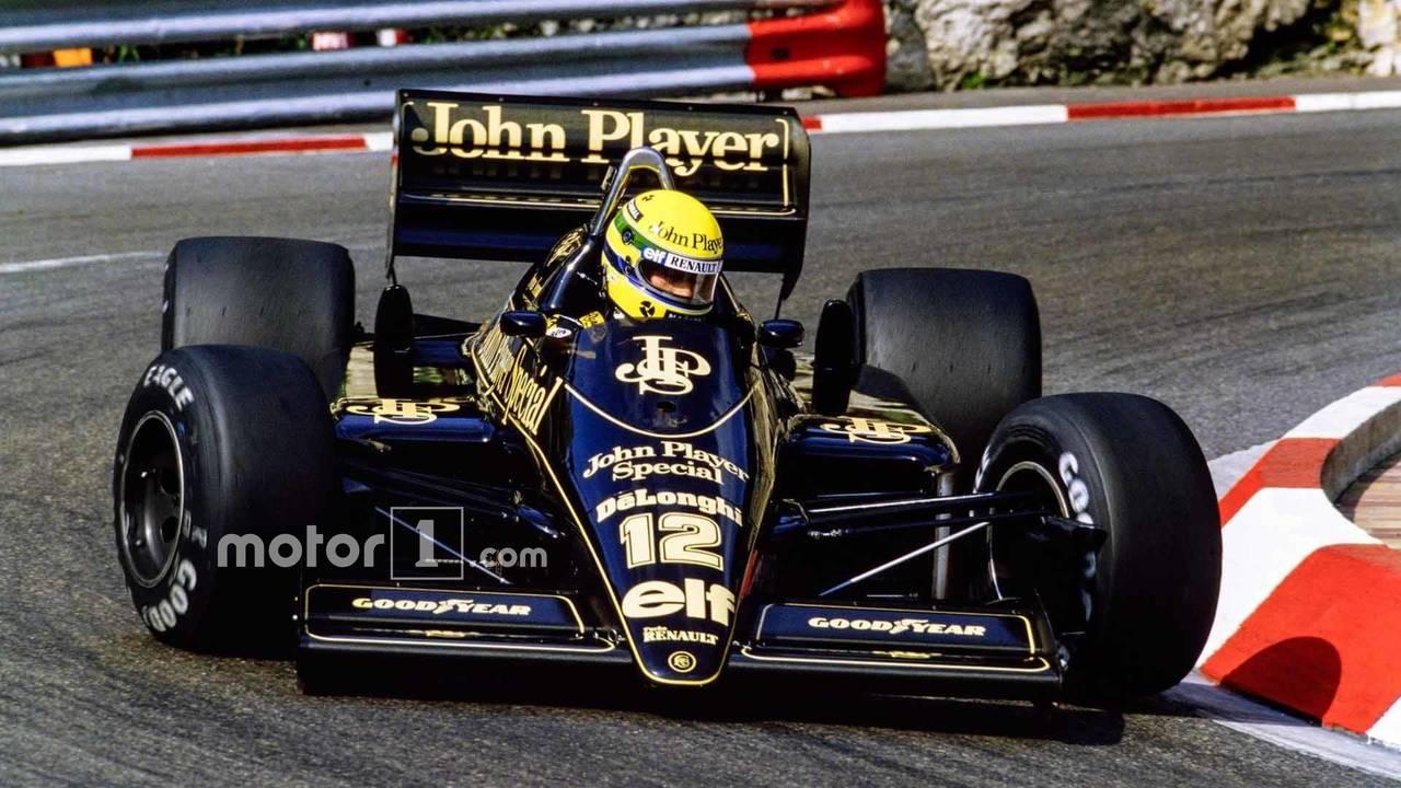 Senna At Lotus
