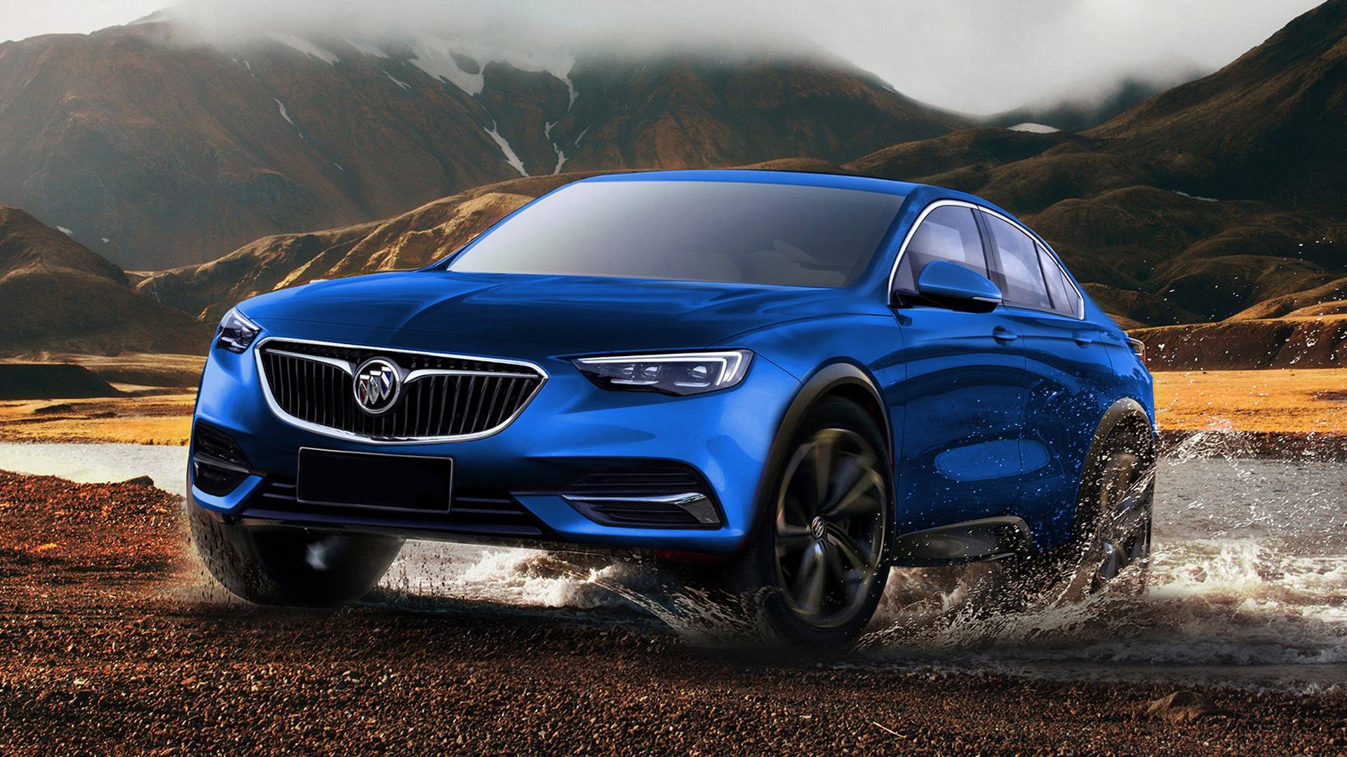 Buick Enspire Concept Envisioned As Production Model