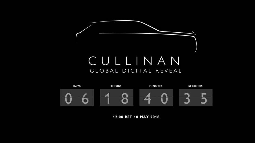Save The Date: Rolls-Royce Cullinan Debuts May 10