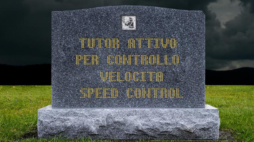 """Tutor disattivati, """"lo stop è un lutto per la sicurezza stradale"""""""