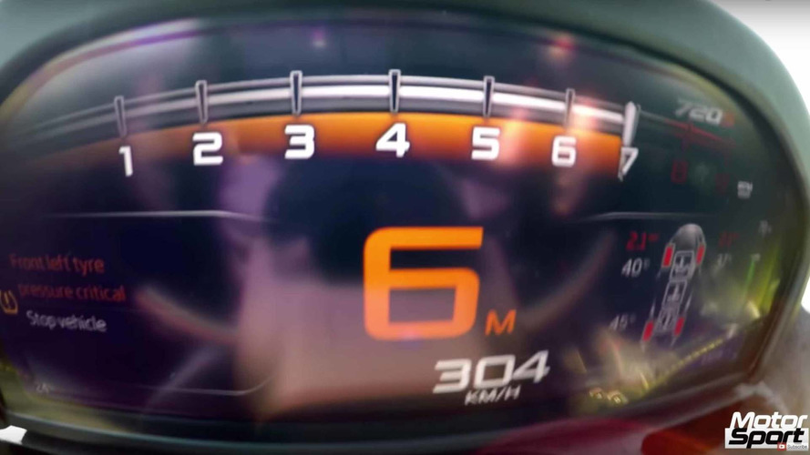 Watch McLaren 720S Sprint To 189 MPH With Ease