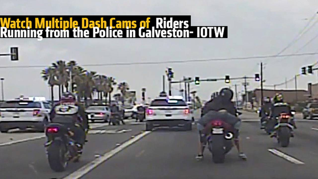 Video: Idiots of The Week - Galveston Police Chase Riders