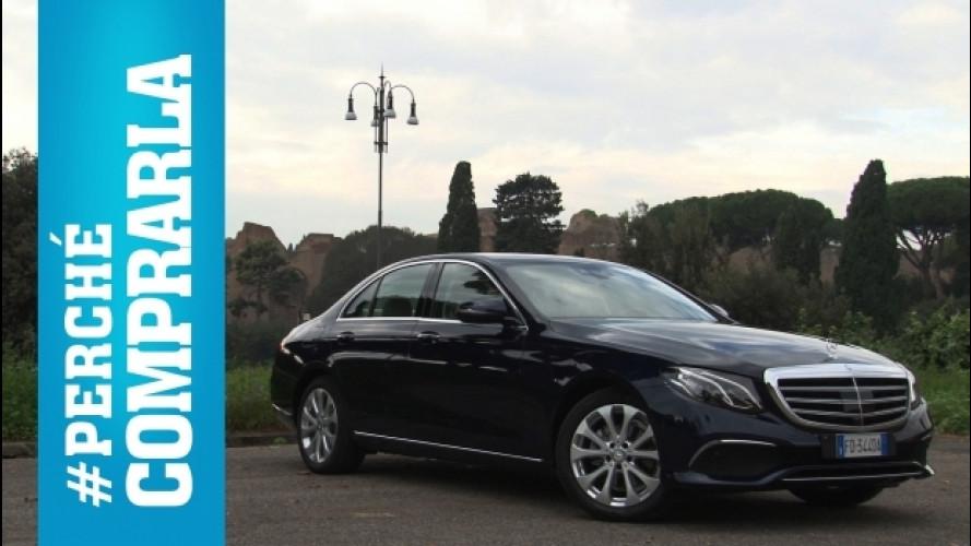 Mercedes Classe E, perché comprarla… e perché no [VIDEO]