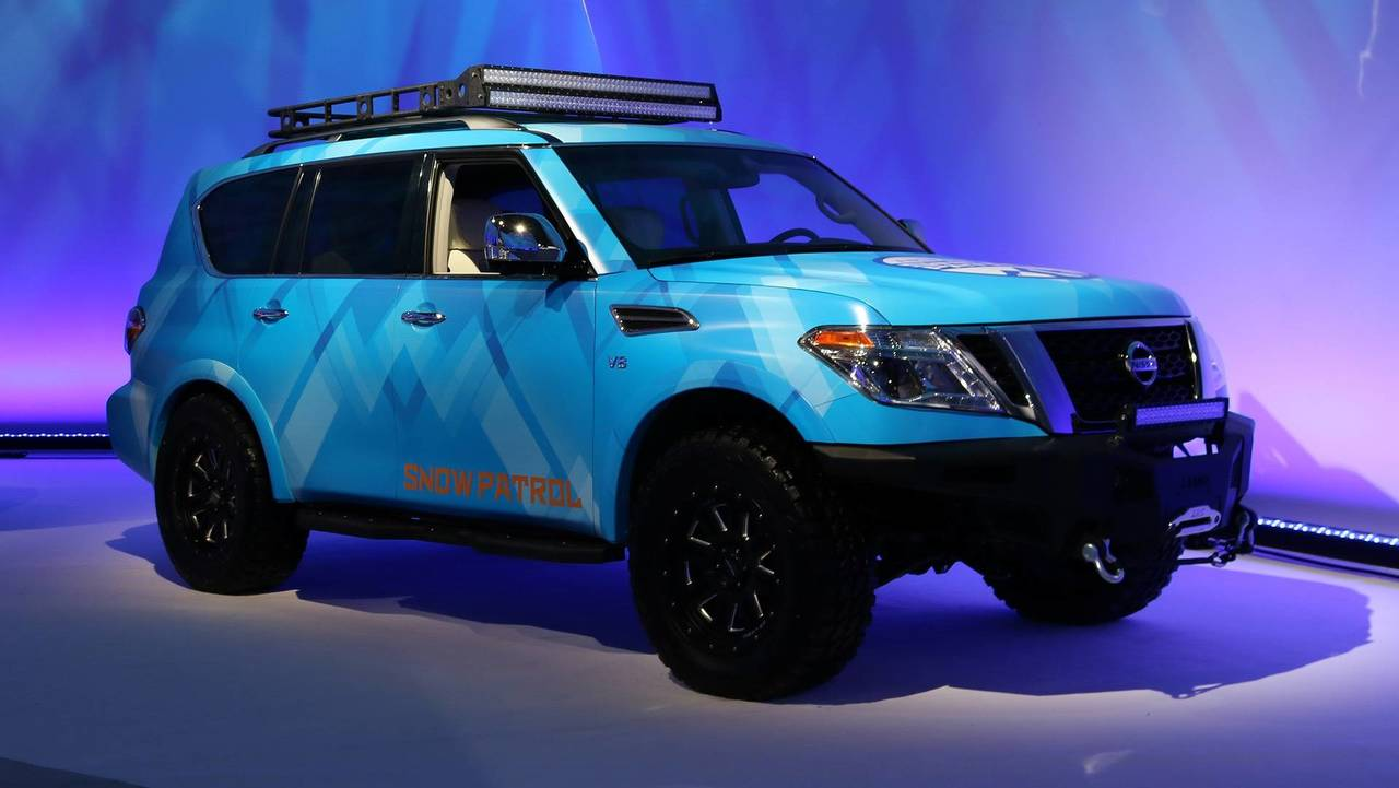 The Nissan Armada Snow Patrol Is Ready To Haul Your Winter ...