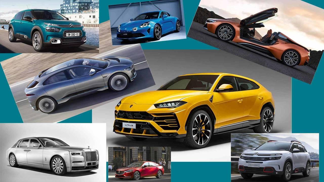 Die Autoneuheiten im Jahr 2018