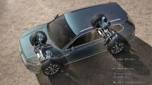 2019 VW Touareg - Four-corner air suspension