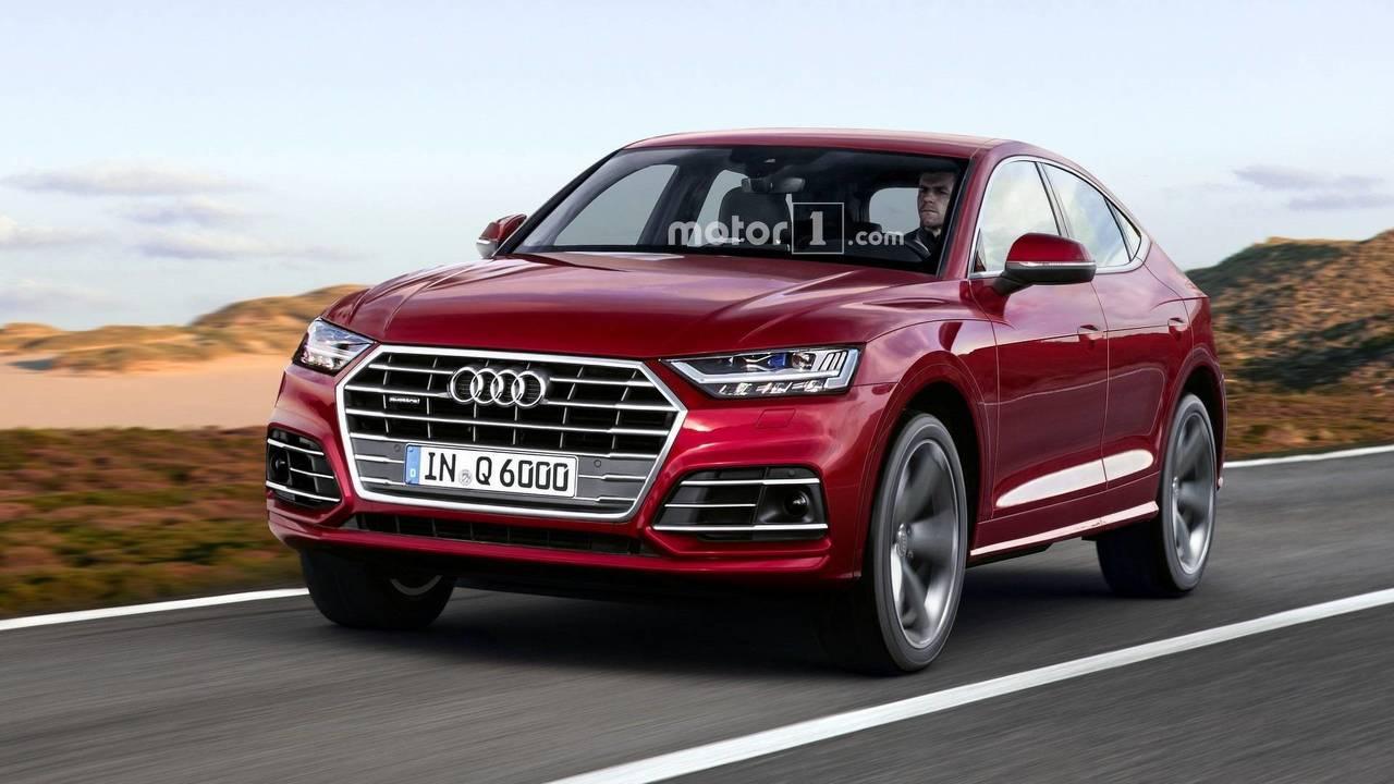 Audi Q6 rendu