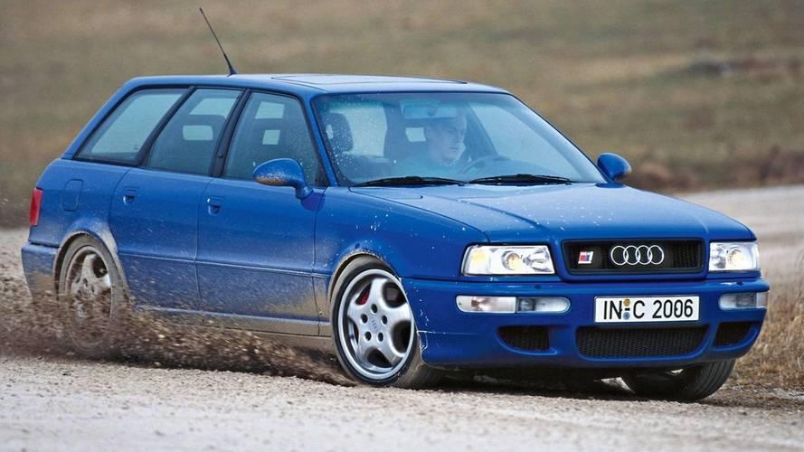 DIAPORAMA - Les Audi cinq cylindres