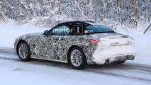 BMW Z4 Snow Spy Shots