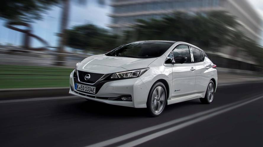 First new Nissan Leaf delivered in Europe