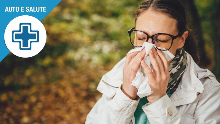 In auto con l'influenza, come evitare il contagio