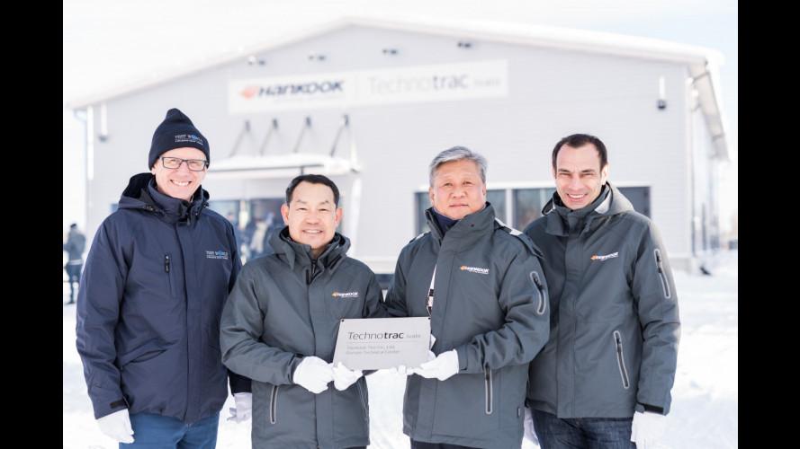 Hankook, inaugurato un nuovo centro prove in Finlandia