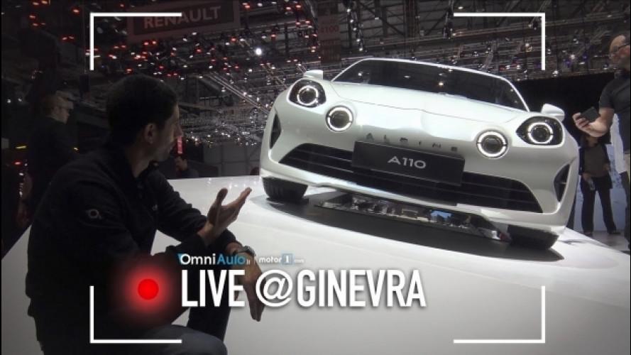 Salone di Ginevra, tutti pazzi per Alpine 110 [VIDEO]