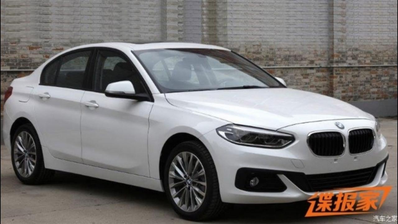 [Copertina] - BMW Serie 1 Sedan, in rete le foto del modello definitivo