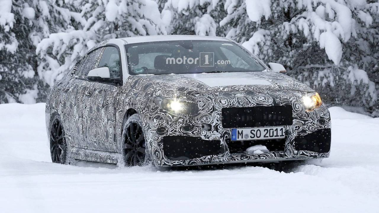 BMW 2 Series Gran Coupe spy photo