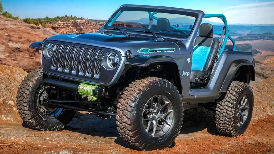 Jeep'in Moab Easter Safari için tasarladığı 7 konsept