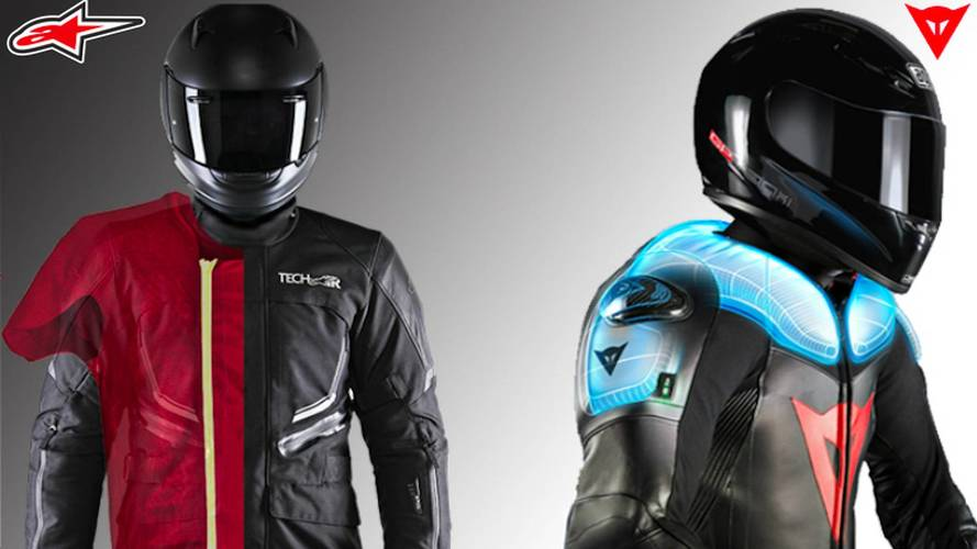How It Works: Modern Airbag Motorcycle Suits