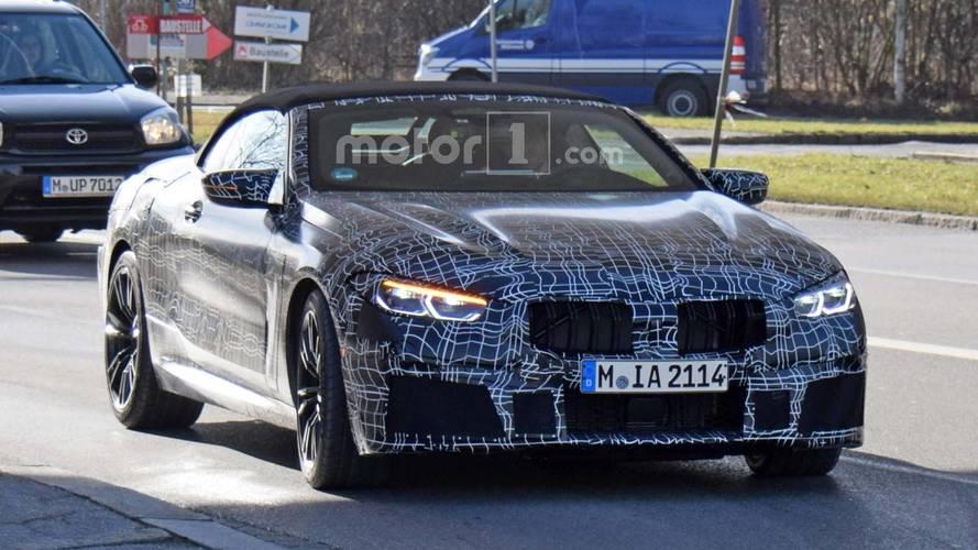 La future BMW M8 Cabriolet aiguise ses dents