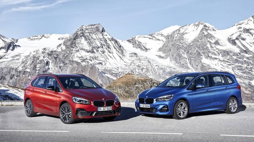 Korszerű technológiákkal frissült a BMW 2-es Active Tourer és Gran Tourer