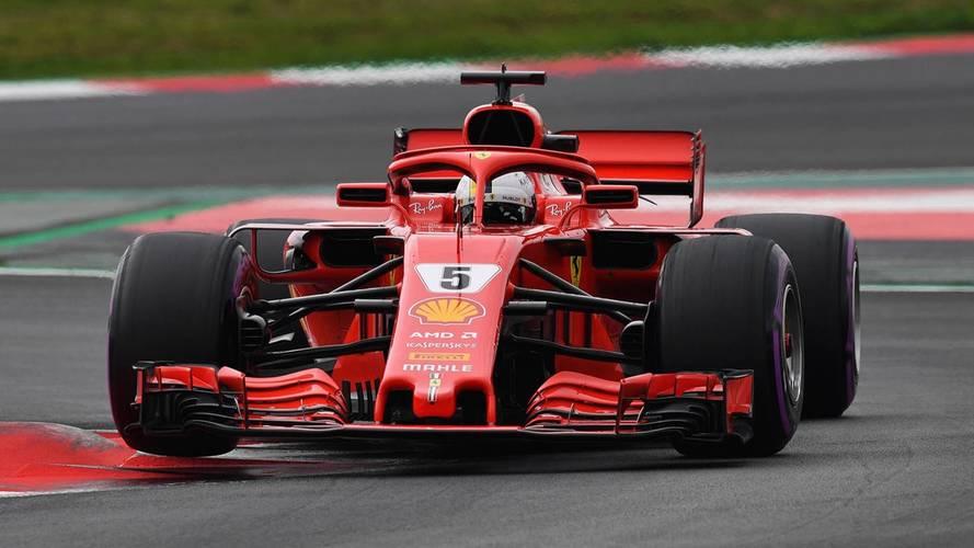 Vettel lidera el penúltimo día de test, con récord incluido