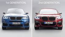 First-gen BMW X4 vs Second-gen BMW X4